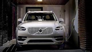 Volvo XC90 charging