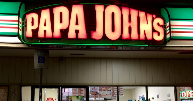 Papa John's pizzeria